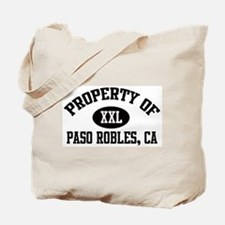 Property of PASO ROBLES Tote Bag