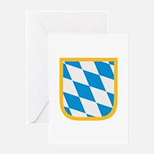 Bavaria flag Greeting Card