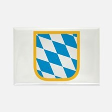 Bavaria flag Rectangle Magnet