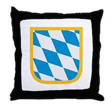 Bavaria flag Throw Pillow