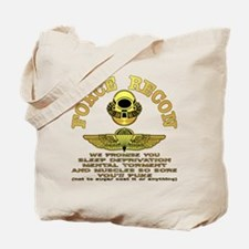 Force Recon We Promise Tote Bag