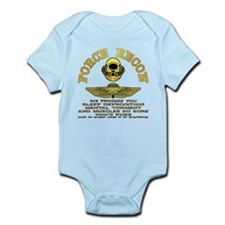 Force Recon We Promise Infant Bodysuit