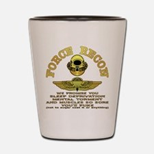 Force Recon We Promise Shot Glass