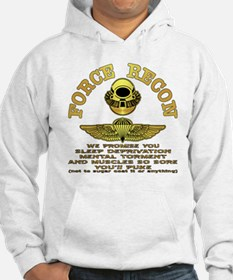 Force Recon We Promise Hoodie