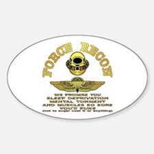 Force Recon We Promise Decal