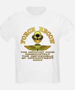 Force Recon The Difficult T-Shirt