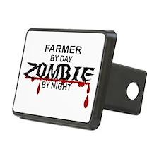 Farmer Zombie Hitch Cover