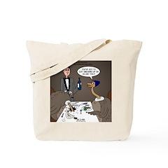 Ostrich Fine Dining Tote Bag
