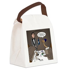 Ostrich Fine Dining Canvas Lunch Bag