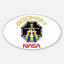 STS 121 NASA Sticker (Oval)