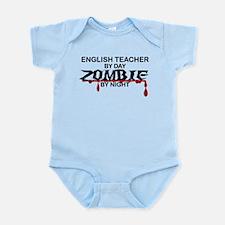 English Teacher Zombie Infant Bodysuit
