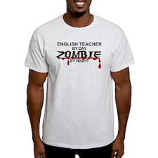 English Teacher Zombie T-Shirt