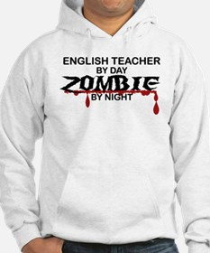 English Teacher Zombie Hoodie