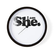 I am She. Wall Clock