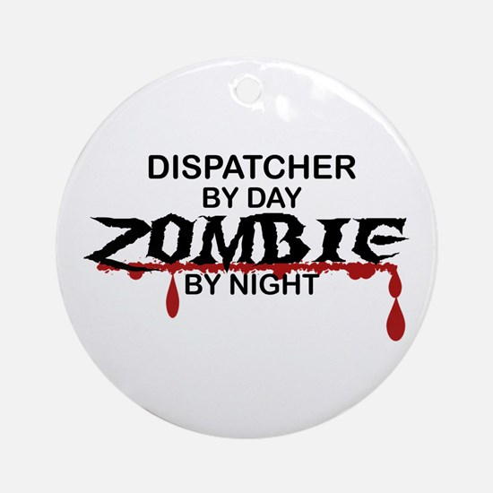 Dispatcher Zombie Ornament (Round)
