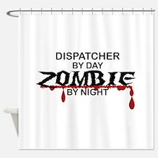 Dispatcher Zombie Shower Curtain