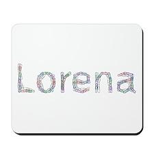 Lorena Paper Clips Mousepad