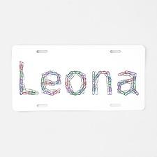 Leona Paper Clips Aluminum License Plate