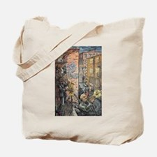Back Alley Blues Tote Bag