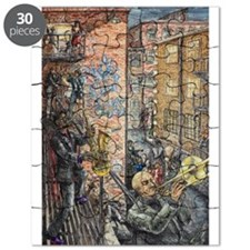 Back Alley Blues Puzzle