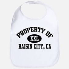 Property of RAISIN CITY Bib