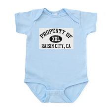 Property of RAISIN CITY Infant Creeper