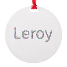 Leroy Paper Clips Ornament