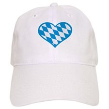 Bavaria flag heart Baseball Cap