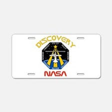 STS 121 NASA Aluminum License Plate