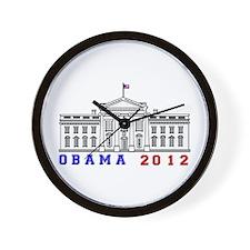 Obama 2012 Election Commemorative Wall Clock