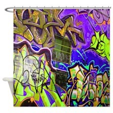 Graffiti Designer Series Shower Curtain