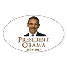Obama 2009 - 2017 Decal