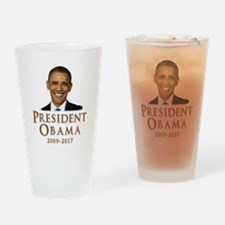 Obama 2009 - 2017 Drinking Glass