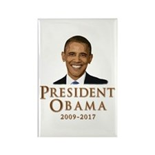 Obama 2009 - 2017 Rectangle Magnet