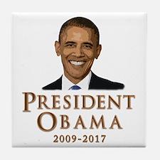Obama 2009 - 2017 Tile Coaster