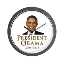 Obama 2009 - 2017 Wall Clock