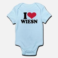 I love Wiesn Oktoberfest Infant Bodysuit