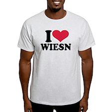 I love Wiesn Oktoberfest T-Shirt