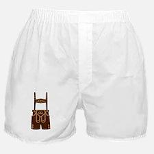 Leather trousers bavaria Boxer Shorts