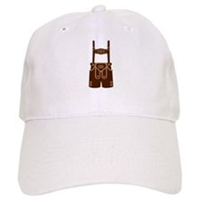 Leather trousers bavaria Baseball Cap