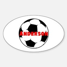 Personalized Soccer Decal