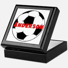 Personalized Soccer Keepsake Box