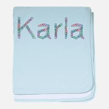 Karla Paper Clips baby blanket