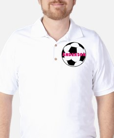 Personalized Soccer Golf Shirt