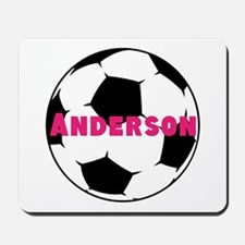 Personalized Soccer Mousepad
