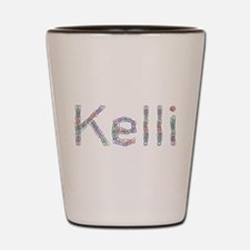 Kelli Paper Clips Shot Glass