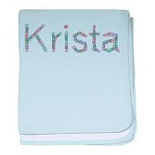 Krista Paper Clips baby blanket