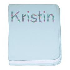 Kristin Paper Clips baby blanket