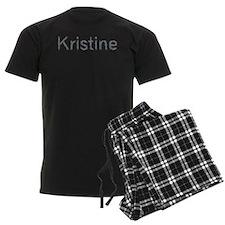Kristine Paper Clips Pajamas
