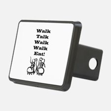 Walk Talk Eat Hitch Cover